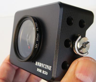 ANDYCINEのソニー RX0用ケージ