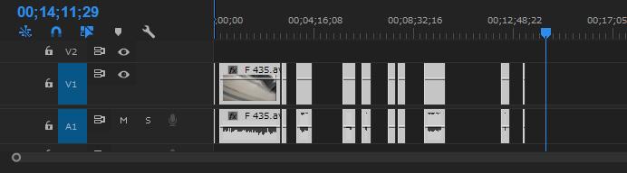 Premiere Pro 空白を削除