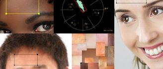 【ベクトルスコープ】肌の色について 肌色を調べる 【カラー補正】