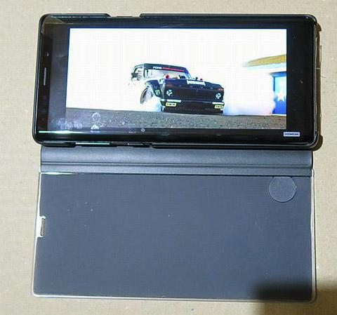 Galaxy Note9 SCV40 ケース改造