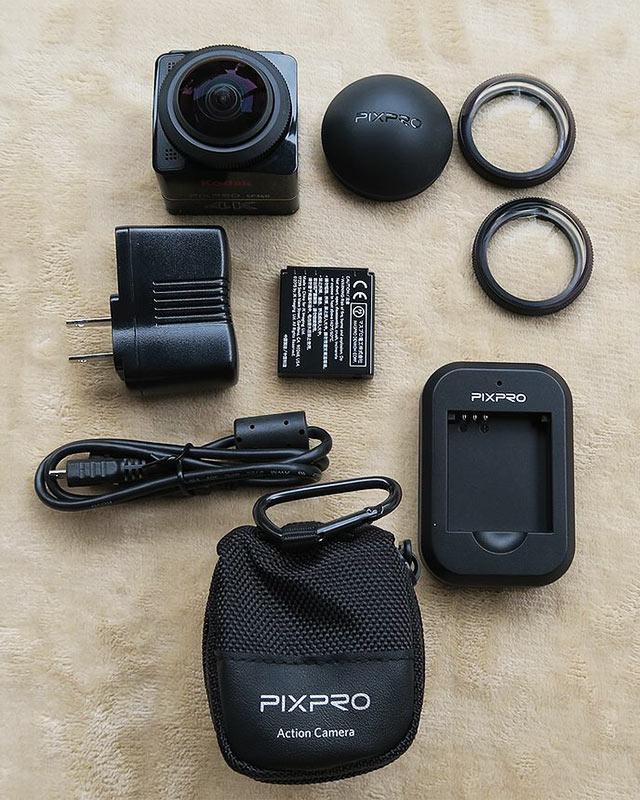 PIXPRO SXZP360 同梱品
