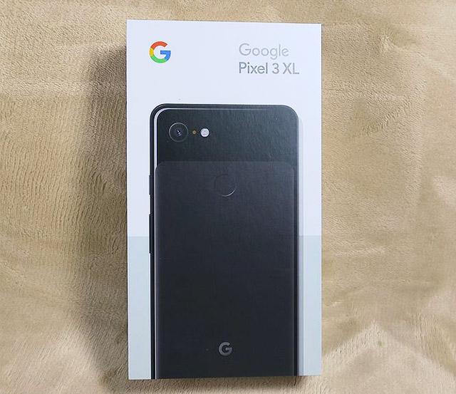 Google Pixel 3 XLの箱