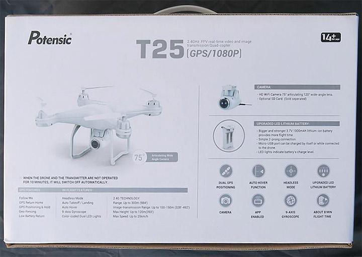 Potensic ドローン T25