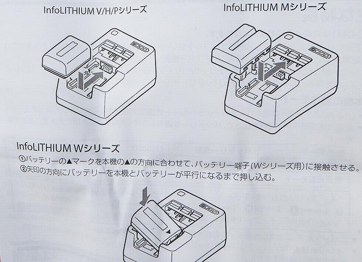 ACC-QMCV7 バッテリーチャージャ