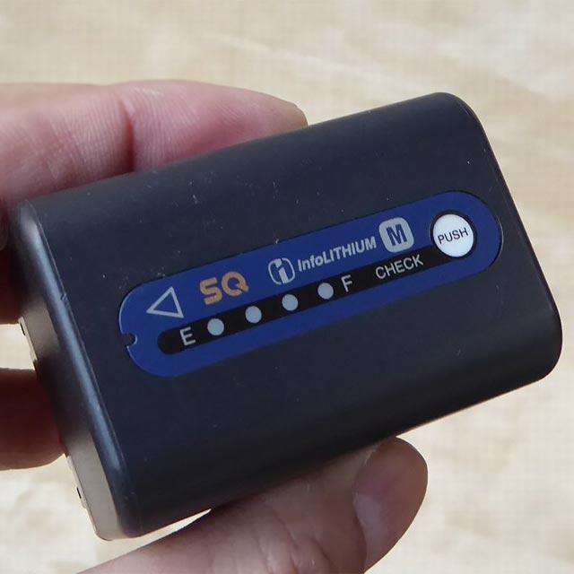 ソニー M型バッテリー