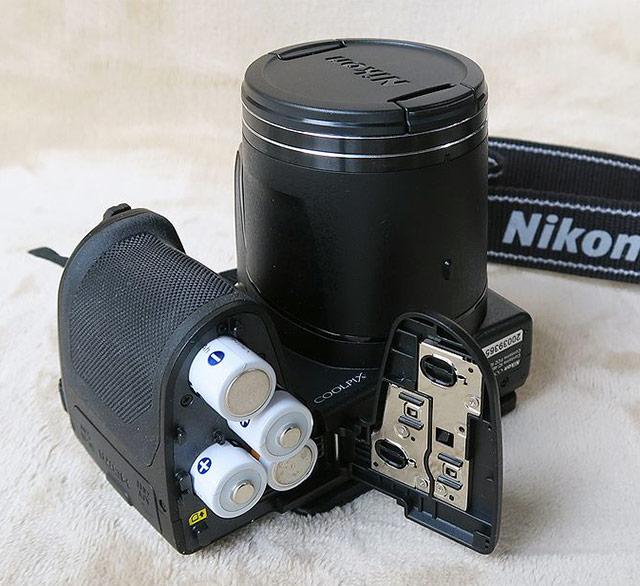 coolpix B500 電池