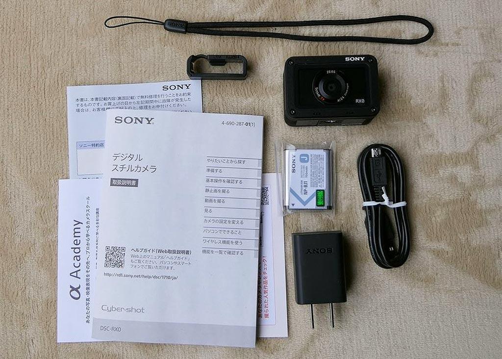SONY DSR RX0 内容物
