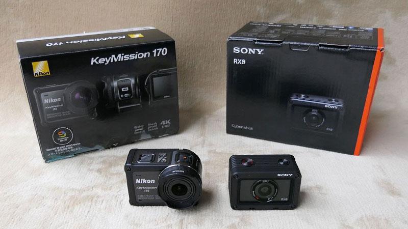 DSR RX0 KeyMission170 比較