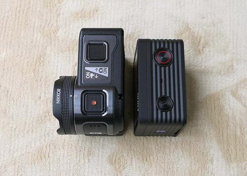 ソニーDSR RX0 KeyMission170 比較
