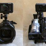 【同時撮影】動画2台撮り比べ装置【ハンディーカムとアクションカム】