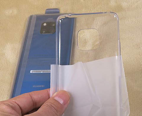 Huawei  Mate 20 Proのシリコンジャケット