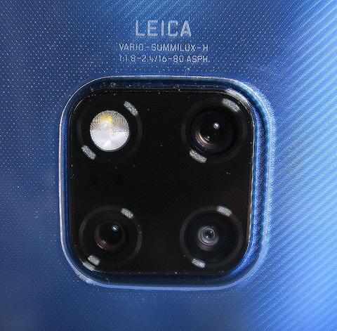 Huawei Mate 20 Pro レンズ