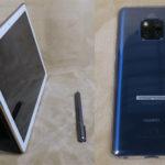 Huawei スマホとタブレット開封 【Mate 20 Pro/MediaPad M5 Pro】