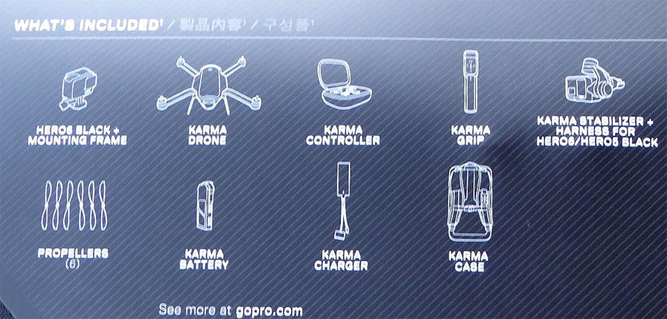 カルマ ドローン HERO6