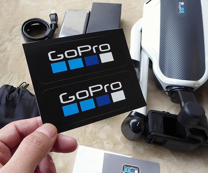 GoPro ステッカー