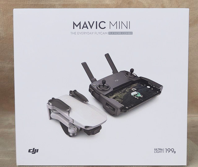 DJI Mavic Miniの箱