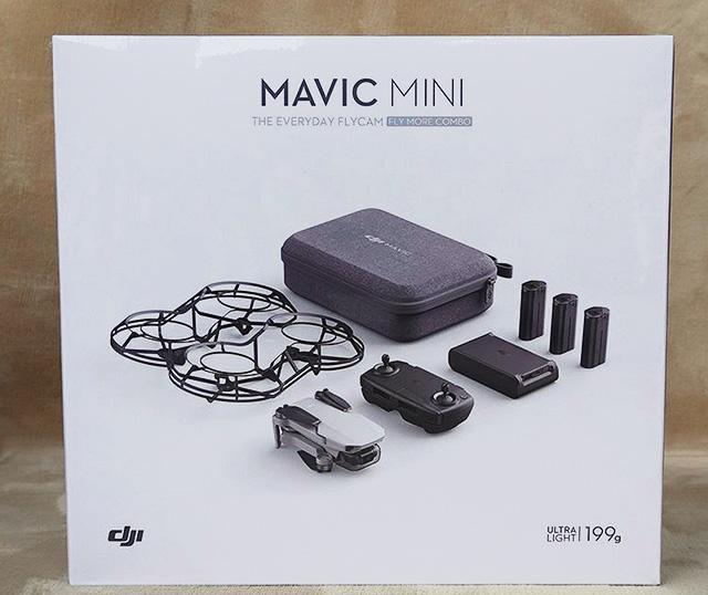 DJI Mavic Miniの開封レビュー