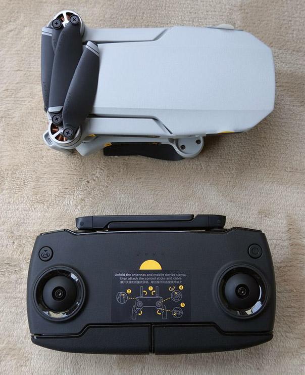 DJI Mavic Mini コントローラー