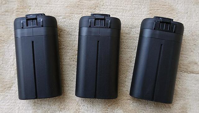 Mavic Miniのバッテリー