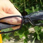 メガネ型カメラ その2 テスト撮影 とカラー補正 【TEM-538】
