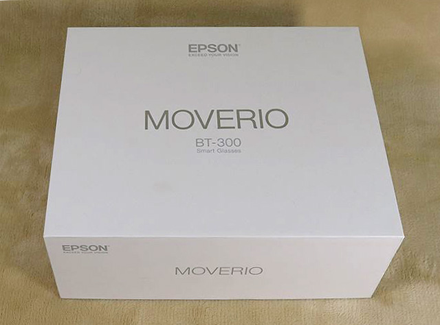 EPSON MOVERIO BT-300 箱
