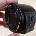 SONY QX30 個人開封レビュー 【レンズ型カメラ】
