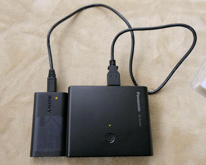 RX0 モバイルバッテリー