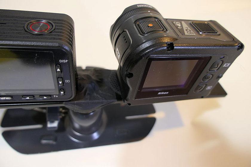 2台同時撮影 ブラケット