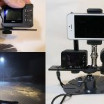 【DSC-RX0】自作2台同時撮影 アクションカムでスノードライブ  【KeyMission170】