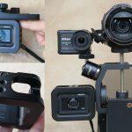 DSC-RX0専用ケージ VCT-CGR1活用例!カメラを自由に取り付け