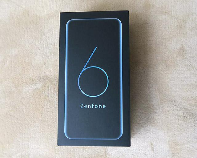 ASUS ZenFone 6の開封レビュー