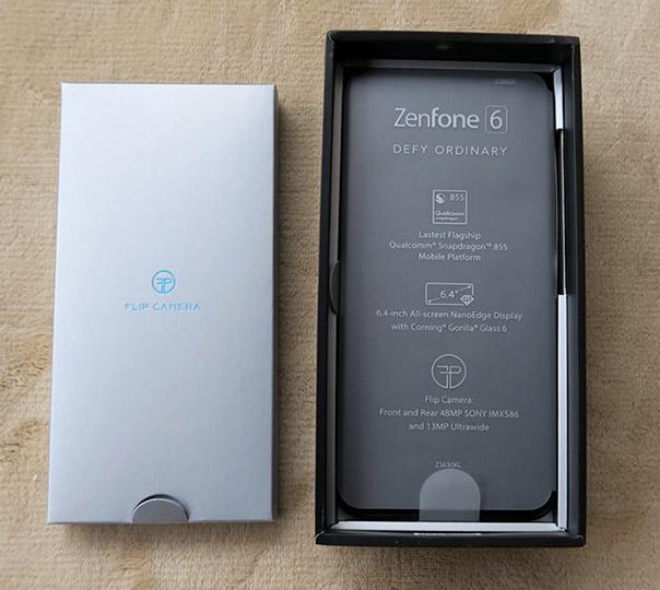 ZenFone 6を開けてみた