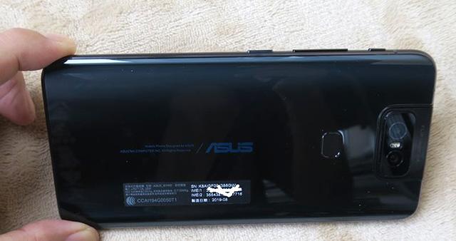 ASUS ZenFone 6の本体レビュー