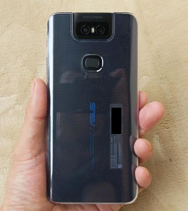 ZenFone 6の付属カバー
