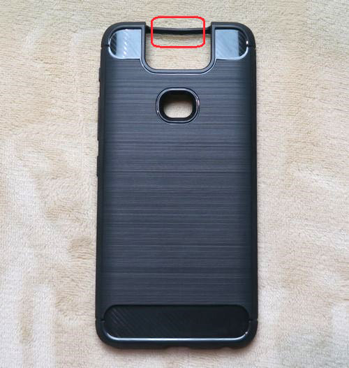 ZenFone 6ケース 炭素繊維
