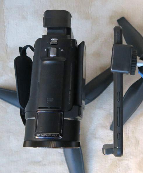 ZenFone 6 ビデオカメラ比較