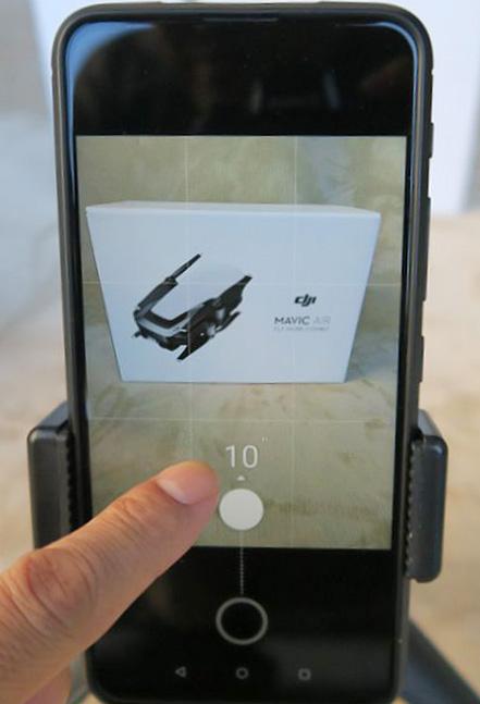 ZenFone 6 タッチシャッター