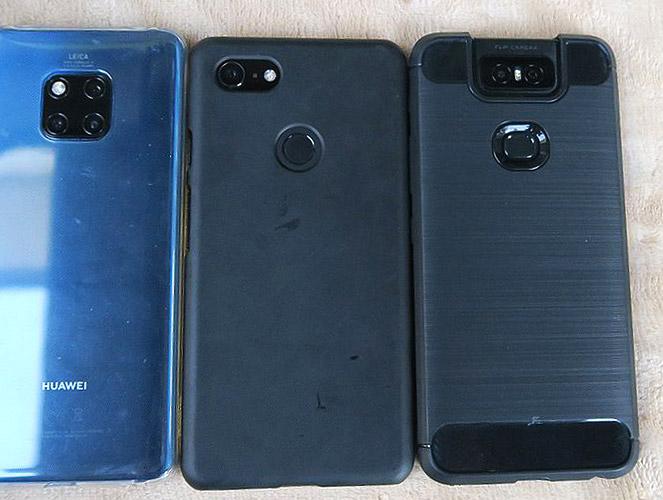 ZenFone 6 Mate 20 Google Pixel 3 比較